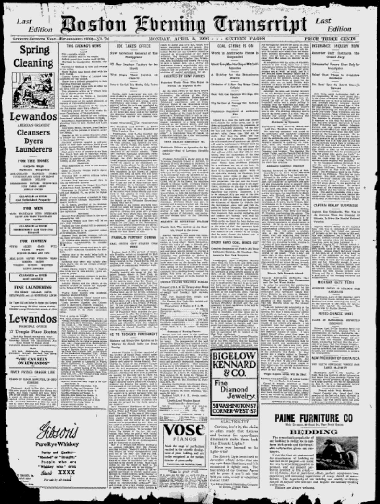 Boston Evening Transcript - Google News Archive Search