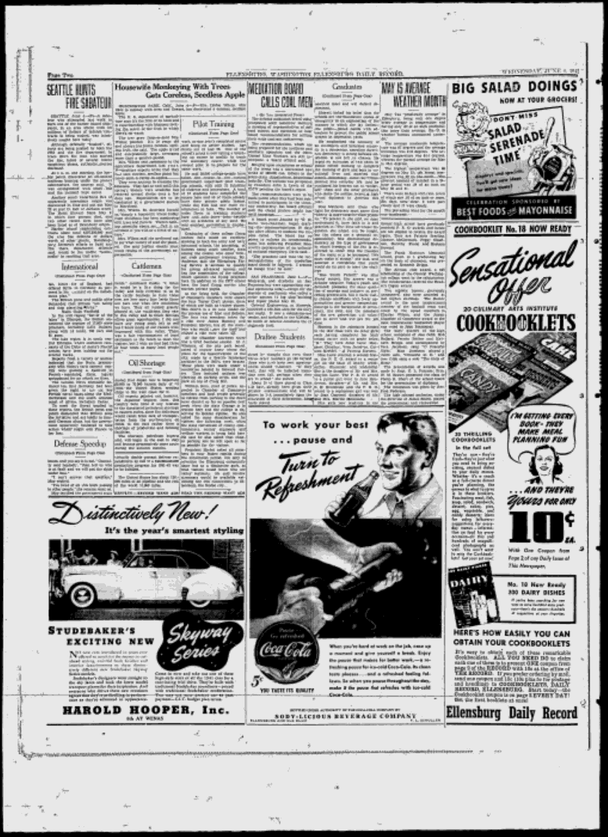 Ellensburg Daily Record - Google News Archive Search