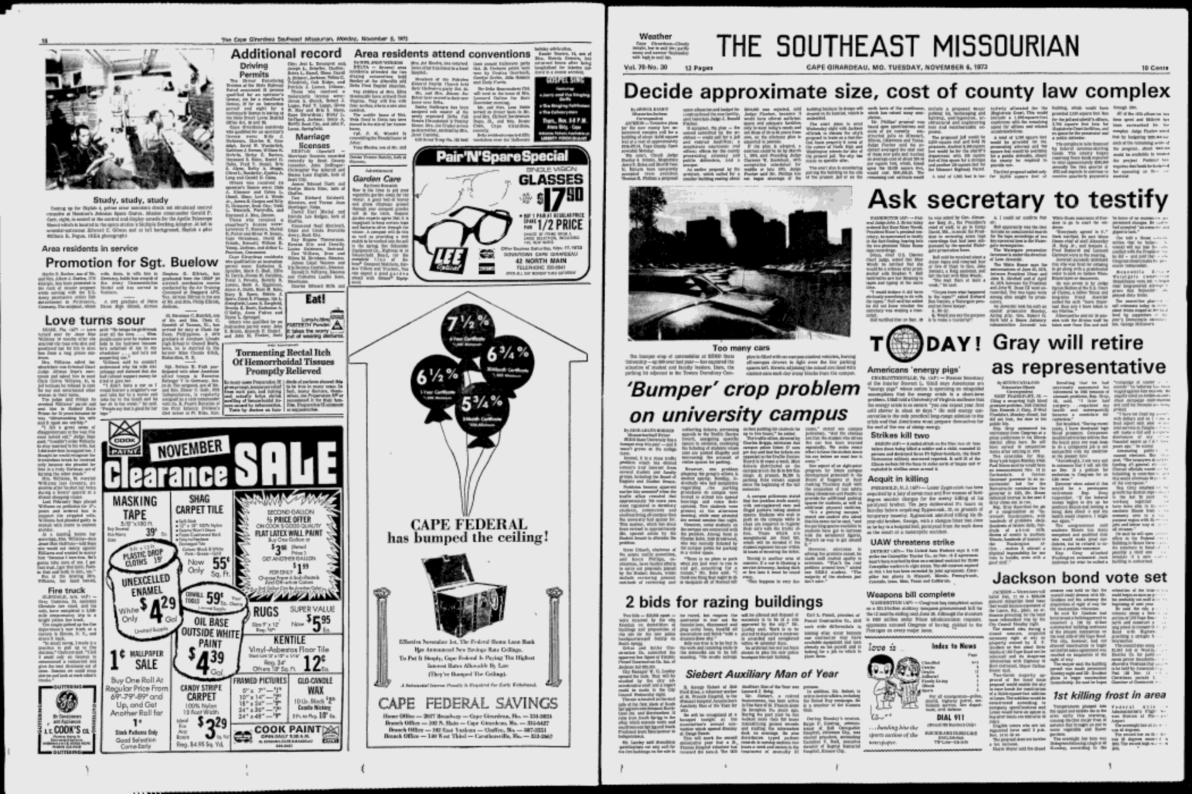 nov 6 1973